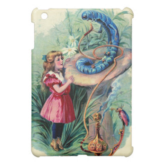 Vintage Alice In Wonderland  Case For The iPad Mini