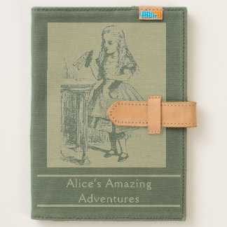 Vintage Alice in Wonderland Cat Adventures Art Journal