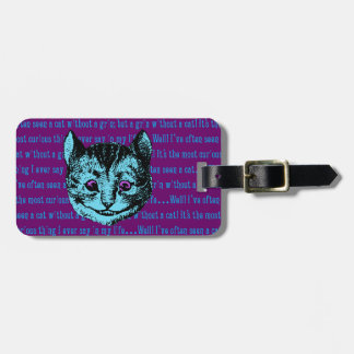 Vintage Alice in Wonderland Cheshire Cat Bag Tags