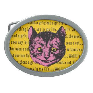 Vintage Alice in Wonderland Cheshire Cat Belt Buckle