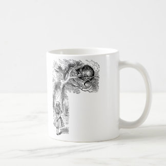 Vintage Alice in Wonderland, Cheshire Cat Coffee Mug