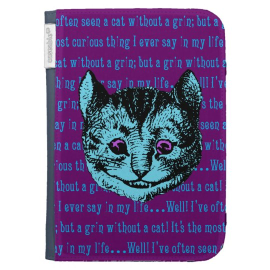 Vintage Alice in Wonderland Cheshire Cat Kindle 3 Covers