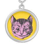 Vintage Alice in Wonderland Cheshire Cat Pendant