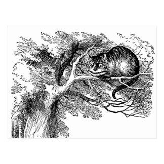 Vintage Alice in Wonderland, Cheshire Cat Postcards