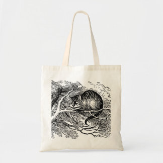 Vintage Alice in Wonderland, Cheshire Cat Tote Bag