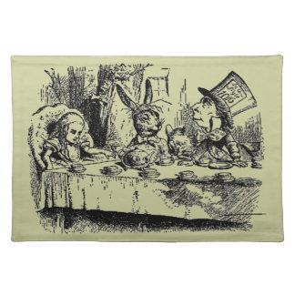 Vintage Alice in Wonderland Cloth Placemat