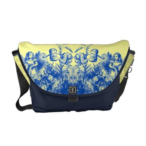 Vintage Alice in Wonderland Courier Bag