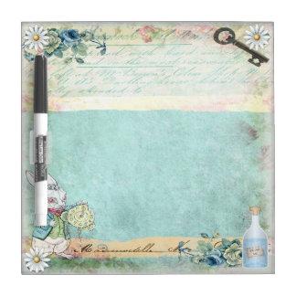 Vintage Alice in Wonderland Dry Erase Board