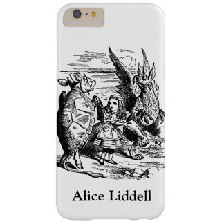 Vintage Alice in Wonderland, Gryphon, Mock Turtle Barely There iPhone 6 Plus Case