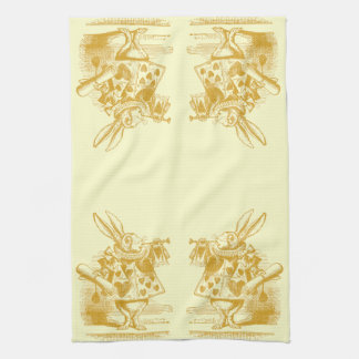 Vintage Alice in Wonderland Hand Towel