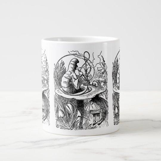 Vintage Alice in Wonderland Hookah Caterpillar Giant Coffee Mug