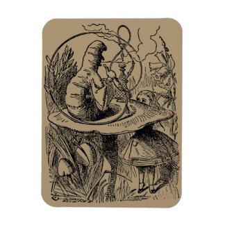 Vintage Alice in Wonderland Hookah Caterpillar Magnet