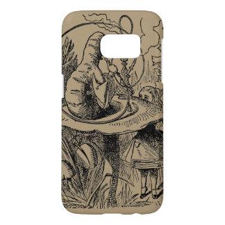Vintage Alice in Wonderland Hookah Caterpillar Samsung Galaxy S7 Case