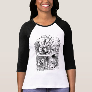 Vintage Alice in Wonderland Hookah Caterpillar T-Shirt