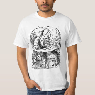 Vintage Alice in Wonderland Hookah Caterpillar T-Shirt