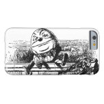 Vintage Alice in Wonderland, Humpty Dumpty on Wall Barely There iPhone 6 Case