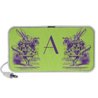 Vintage Alice in Wonderland iPhone Speakers