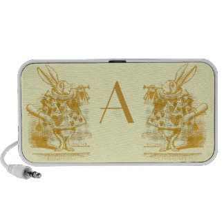 Vintage Alice in Wonderland iPod Speakers