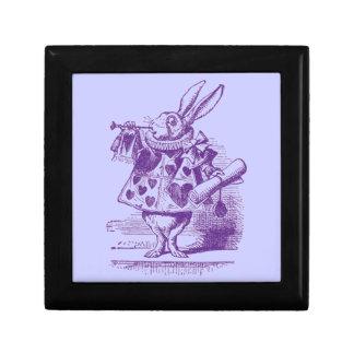 Vintage Alice in Wonderland Keepsake Box