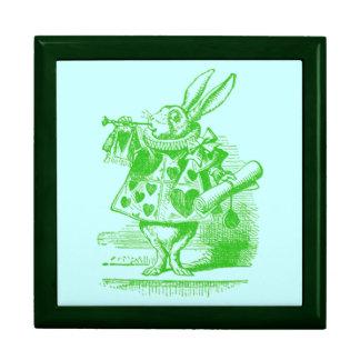 Vintage Alice in Wonderland Keepsake Boxes
