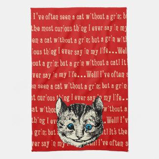 Vintage Alice in Wonderland Kitchen Towel