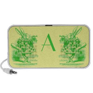 Vintage Alice in Wonderland Laptop Speaker