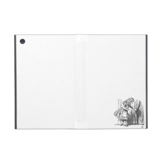 Vintage Alice in Wonderland looking for the door Covers For iPad Mini