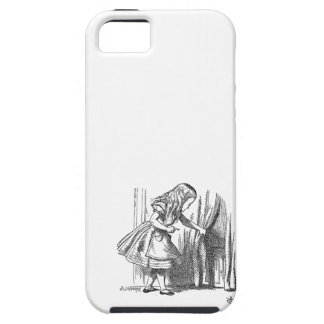 Vintage Alice in Wonderland looking for the door iPhone SE/5/5s Case