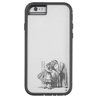 Vintage Alice in Wonderland looking for the door Tough Xtreme iPhone 6 Case
