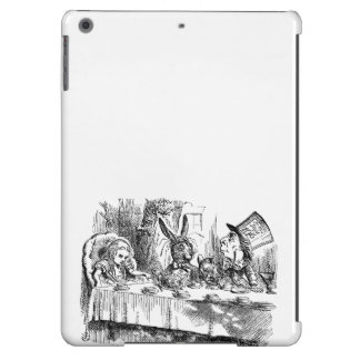 Vintage Alice in Wonderland Mad Hatter tea party Case For iPad Air