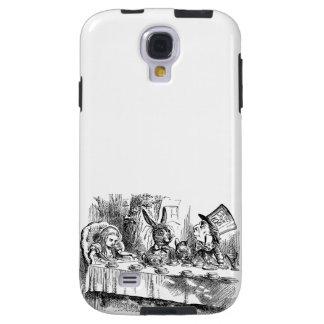 Vintage Alice in Wonderland Mad Hatter tea party Galaxy S4 Case