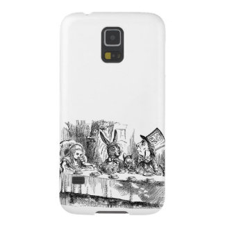 Vintage Alice in Wonderland Mad Hatter tea party Galaxy S5 Cover