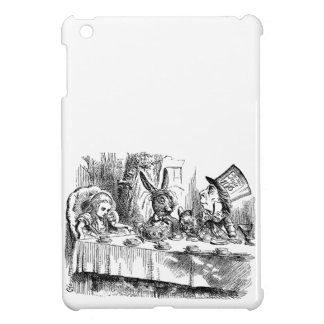 Vintage Alice in Wonderland Mad Hatter tea party Cover For The iPad Mini