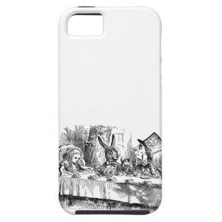 Vintage Alice in Wonderland Mad Hatter tea party iPhone SE/5/5s Case