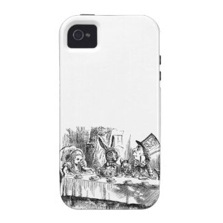 Vintage Alice in Wonderland Mad Hatter tea party Vibe iPhone 4 Case