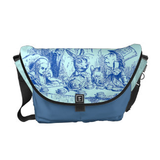 Vintage Alice in Wonderland Messenger Bag