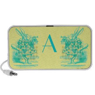 Vintage Alice in Wonderland Notebook Speaker