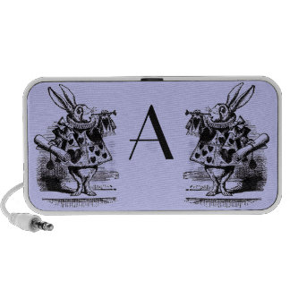 Vintage Alice in Wonderland Notebook Speakers
