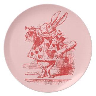 Vintage Alice in Wonderland Party Plates