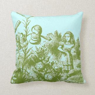 Vintage Alice in Wonderland Pillow
