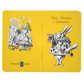 Vintage Alice in Wonderland Pocket Journal