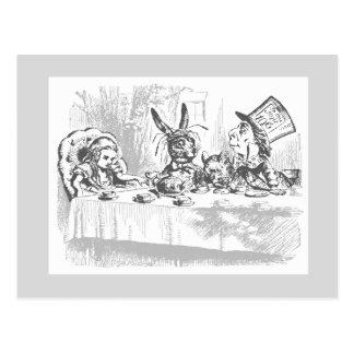 Vintage Alice in Wonderland Postcard