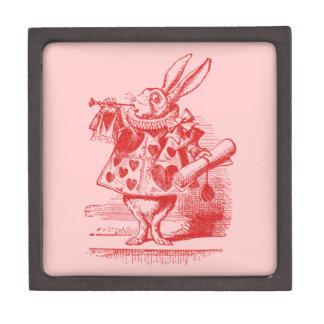 Vintage Alice in Wonderland Premium Jewelry Box