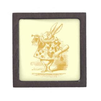 Vintage Alice in Wonderland Premium Keepsake Boxes