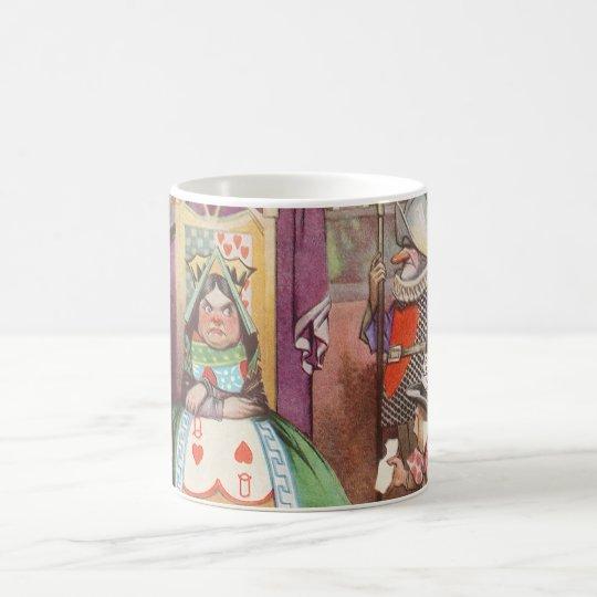 Vintage Alice in Wonderland, Queen of Hearts Coffee Mug
