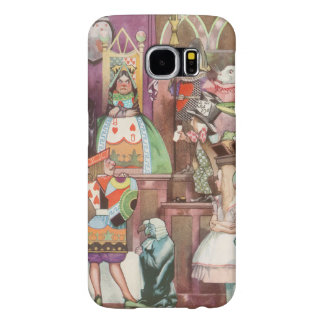 Vintage Alice in Wonderland, Queen of Hearts Samsung Galaxy S6 Case