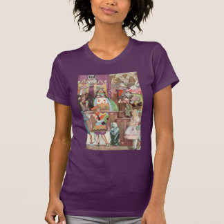 Vintage Alice in Wonderland, Queen of Hearts T-Shirt