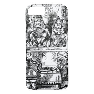 Vintage Alice in Wonderland, Queen of Hearts Trial iPhone 8/7 Case