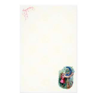 Vintage Alice In Wonderland Stationery