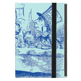 Vintage Alice in Wonderland Tea Party Covers For iPad Mini